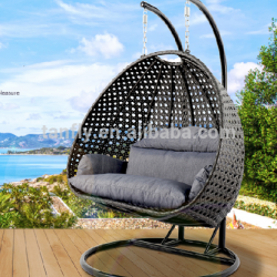Home Casual Patio Furniture Outdoor Hanging Chair Rattan Rocking Swing Chair